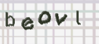 CAPTCHA image for SPAM prevention